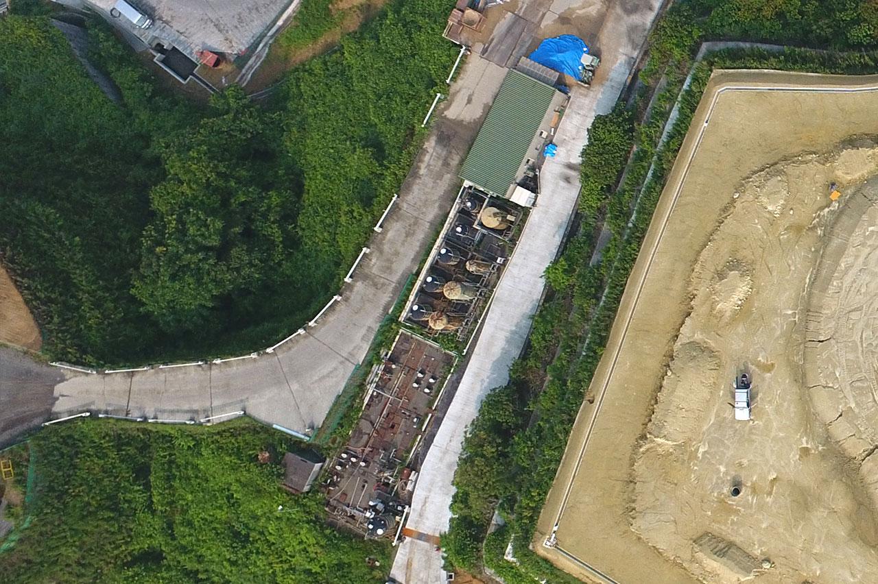 第一期水処理施設