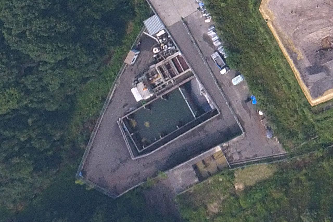第二期水処理施設