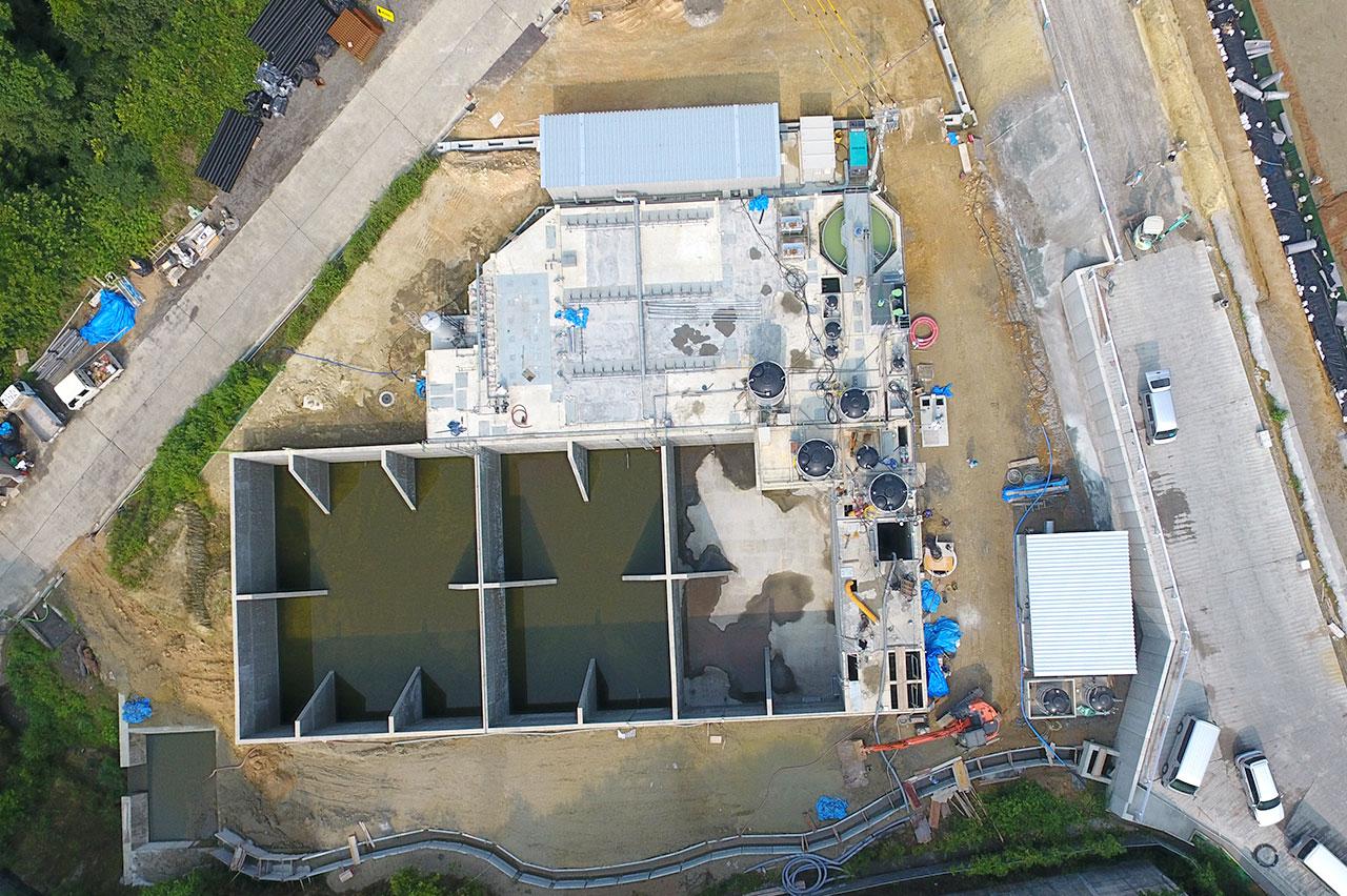 第三期水処理施設